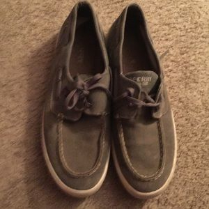 Sperry Gray Shoes